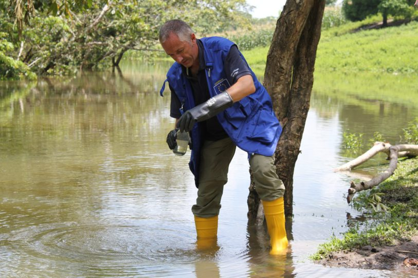Technical mission to assess the pollution of Río la Pasión, Guatemala 2015